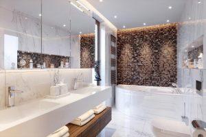 Mozaiki – idealne do wykończenia łazieniki